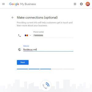 date de contact google maps