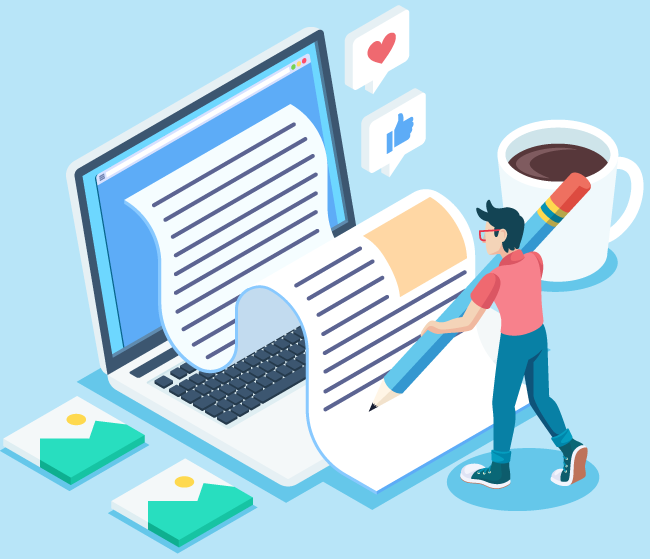 servicii profesionale blogging